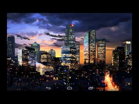 City Skyline Live Wallpaper