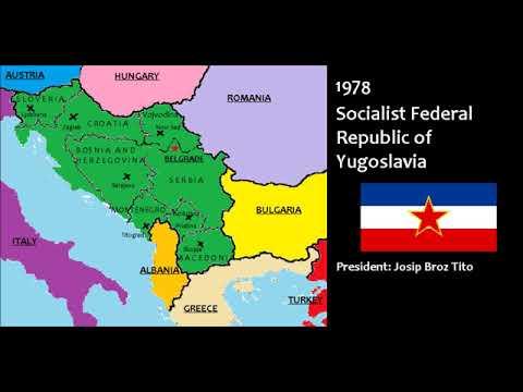 The History of Yugoslavia 1945-1991