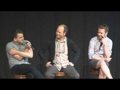 Harry Melling , Adrian Rawlins and Chris Rankin from Harry Potter