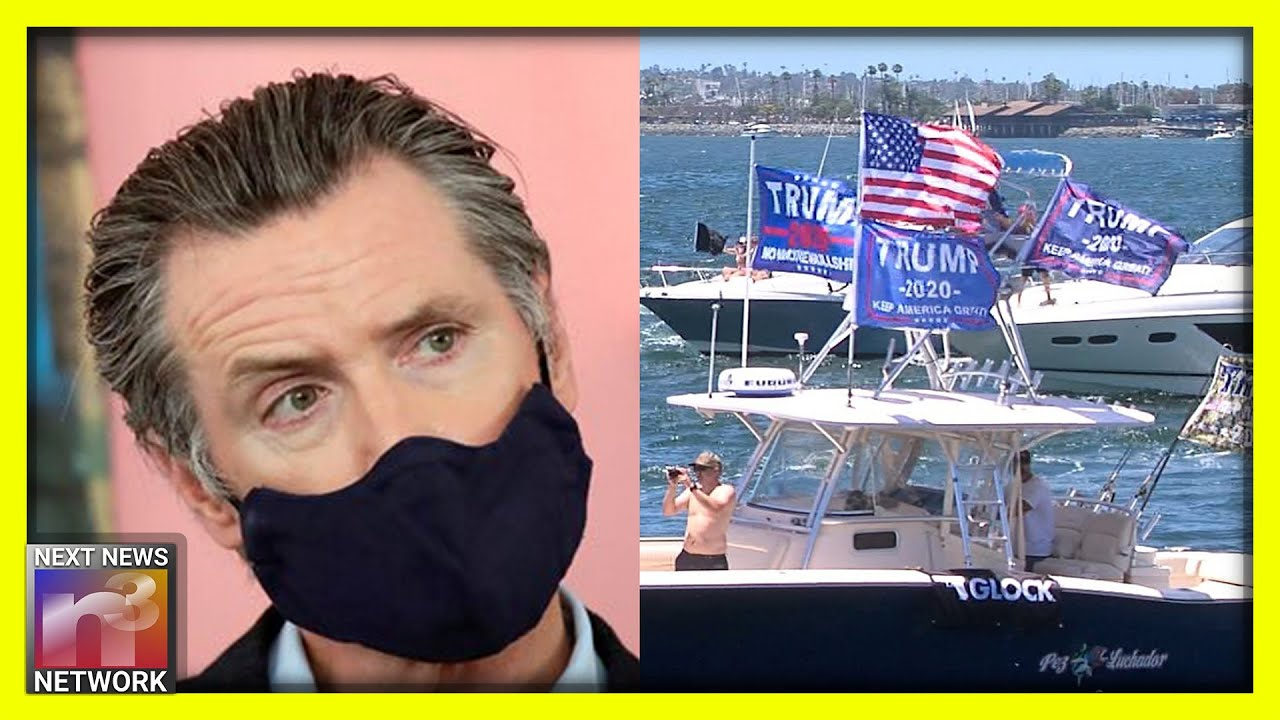 Californians Send a Very Clear 4th of July Message to Gov. Gavin Newsom