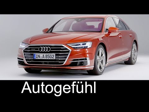 All-new Audi A8 Exterior/Interior first look 2018 neu