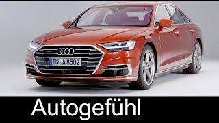 All-new Audi A8 Exterior/Interior first look 2018 neu