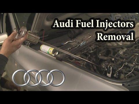 Audi 3.0 TDI Injectors Removal