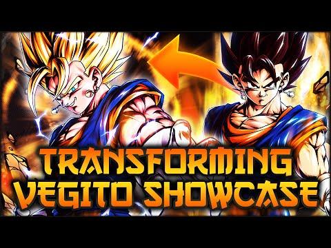 UNBELIEVABLY POWERFUL! Transforming Super Vegito Showcase! | Dragon Ball Legends PvP