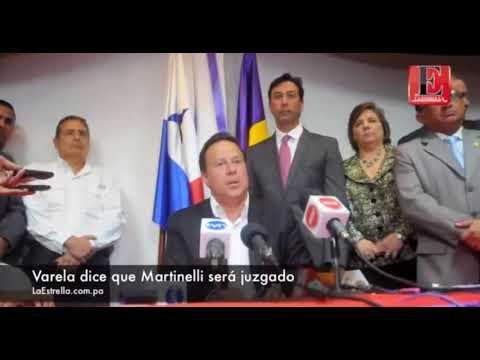 Varela amenaza a Ricardo Martinelli