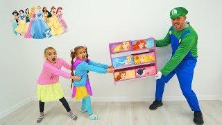Las Ratitas decoran su nueva habitacion de princesas