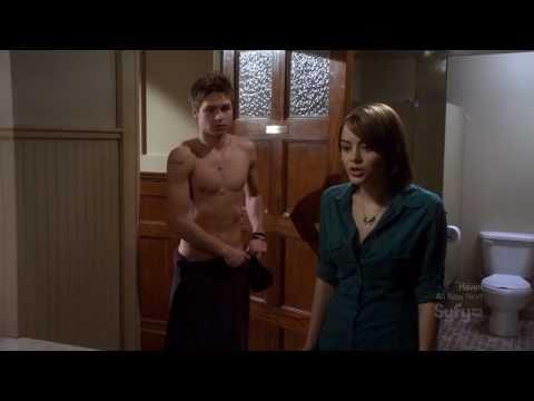 Keenan Tracey shirtless in Eureka