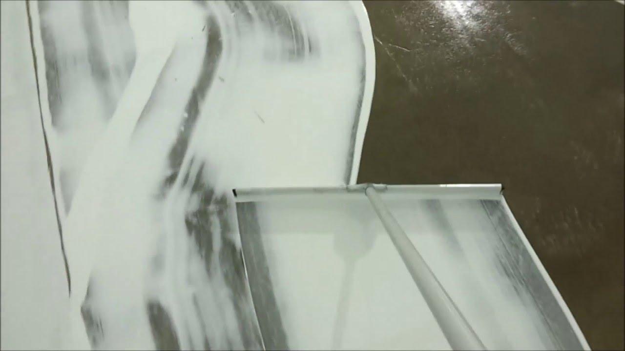 White Epoxy Concrete Coating Commercial Grow Operation Flooring