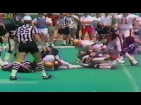 1985 USFL QTR Final Playoffs: Houston Gamblers vs Birmingham Stallions
