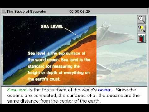 The Study of Seawater (Introducing Oceanography Part 3)