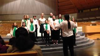 151219 Crowden Chamber Singers at Cathedral of Christ the Light w SFBC: Nu är det Jul igen