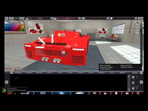 1.2 Million Dollar Race Car ( RT-1250) Build in Automation.