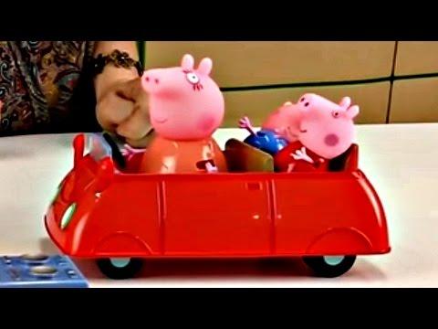 Eğlenceli çocuk Filmi - Peppa Ailesiyle Pikniğe Gidiyor - Burada Harika Oyuncaklar Var