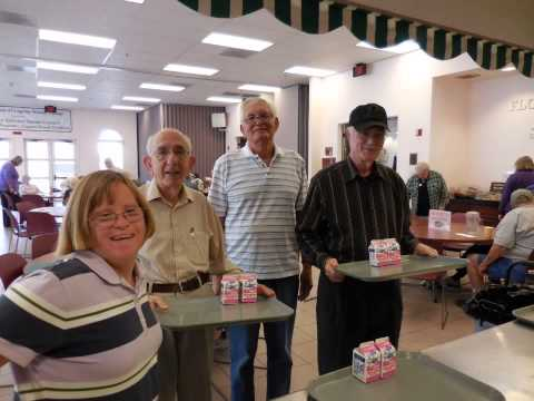 The amazing volunteers of Age Well Senior Services