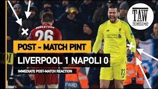 Baixar Liverpool 1 Napoli 0   Post Match Pint
