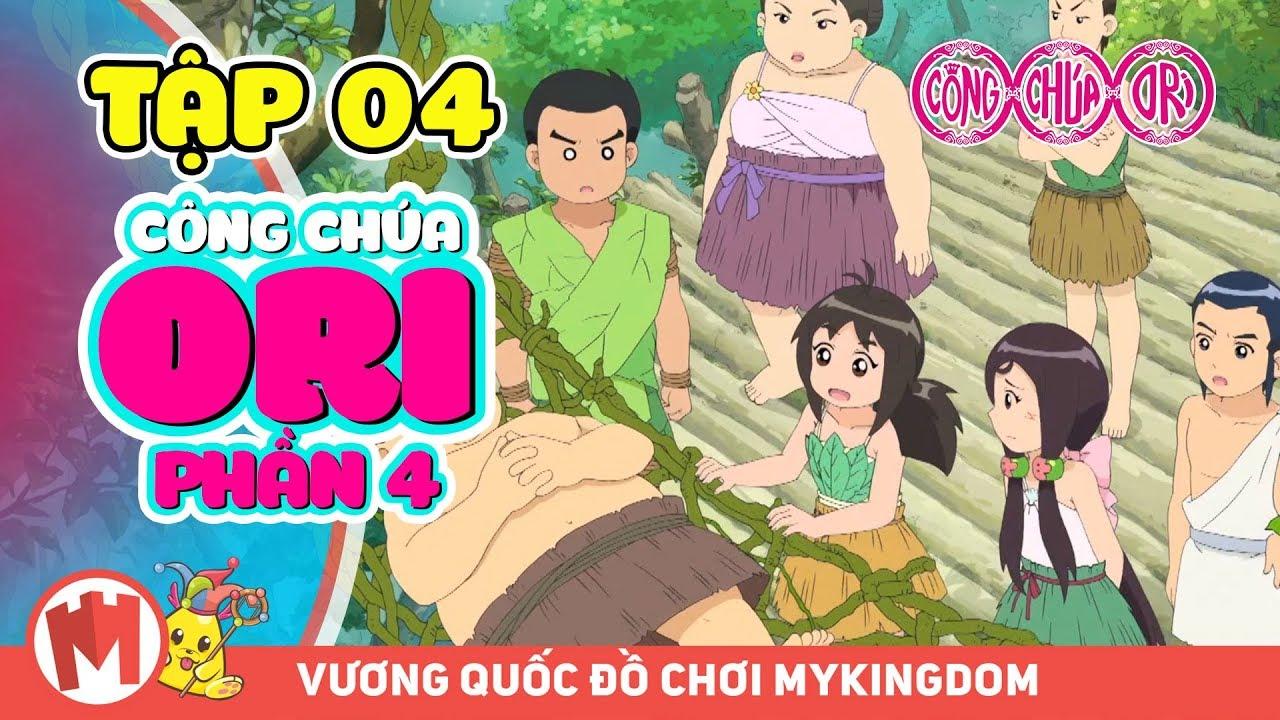 CÔNG CHÚA ORI - Phần 4 | Tập 04: Những Đứa Trẻ Lưu Lạc Trên Hoang Đảo (p2) | Phim hoạt hình Ori
