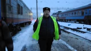 Очередной наезд быдло-охранника на ст.Ижевск