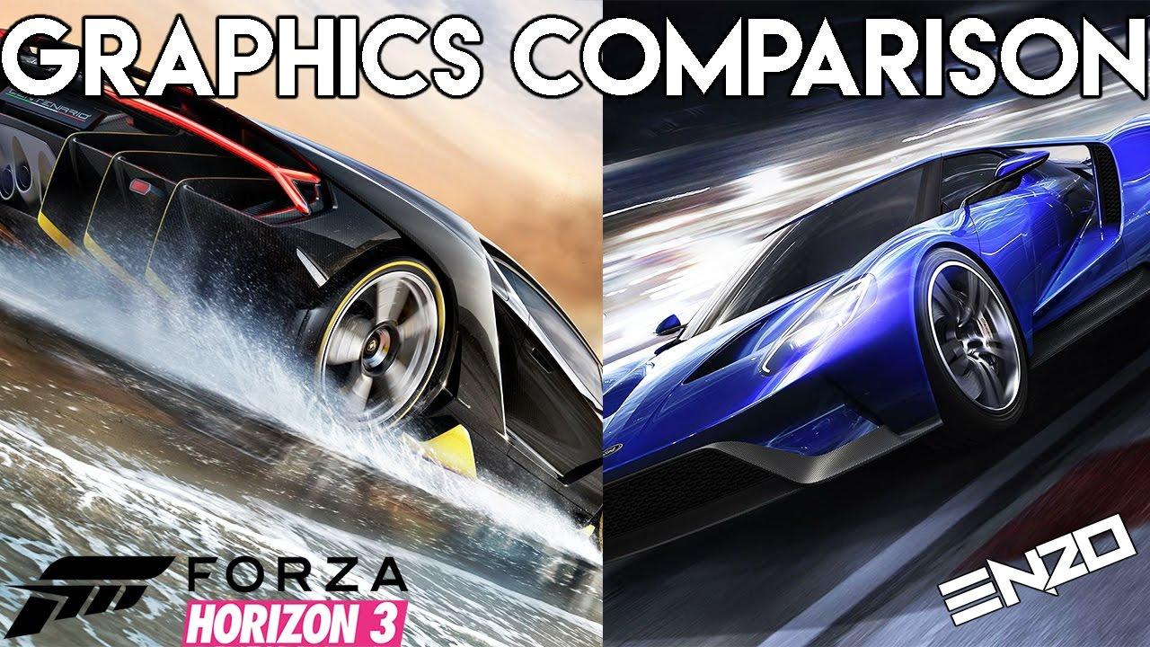 forza horizon 3 vs forza motorsport 6 graphics comparison xbox one gameplay youtube. Black Bedroom Furniture Sets. Home Design Ideas