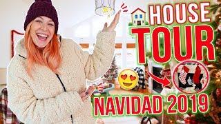HOUSE TOUR 🎄NAVIDAD 2019 🎄FARMHOUSE CHRISTMAS DECOR + HAUL NAVIDEÑO 😍