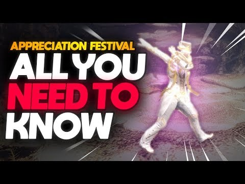 *APPRECIATION FESTIVAL GUIDE!* | Anniversary Event Guide + NEW Armor Set! | Monster Hunter: World thumbnail
