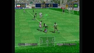 Let's Play Virtua Striker 2 Sega Dreamcast HD