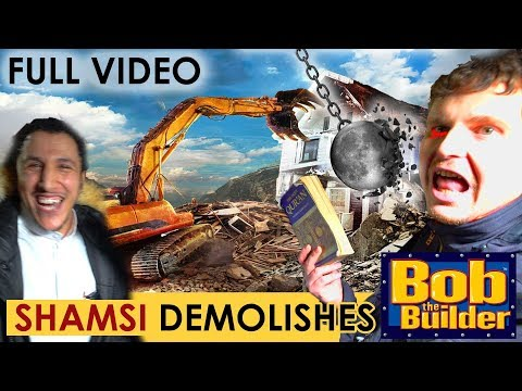 Shamsi Demolishes Bob The Builder! | Speakers Corner
