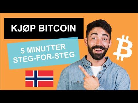 Kjøpe Bitcoin på 5 MINUTTER! → (Visa / MasterCard) | CryptoRunner Norge