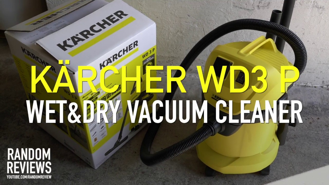 65760188171 Best affordable Wet And Dry Vacuum Cleaner? Kärcher WD3 P - Review ...