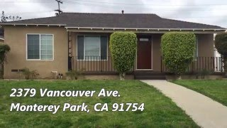 House for Sale in Monterey Park, CA  | Real Estate | Noe Rodriguez - Montelongo Realty