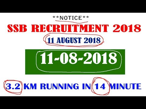SSB SI, ASI, Head Constable Online Form 2018 !! SSB Recruitment 2018