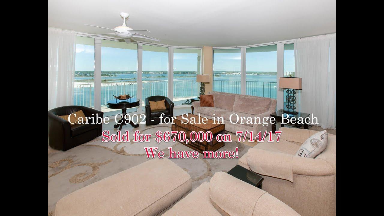 sold caribe 902c bayfront 3 bedroom condo 28105 perdido beach