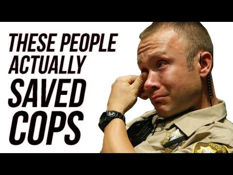 10 People Who Put Their Lives In Danger To Rescue Cops