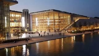 Stavros Niarchos Foundation Cultural Center Athens (4K Video)