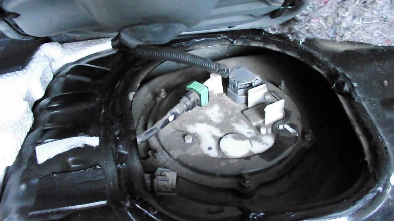 mitsubishi triton wiring diagram mk consumer unit location of in-tank fuel filter in a 2010 outlander 2.4 - youtube