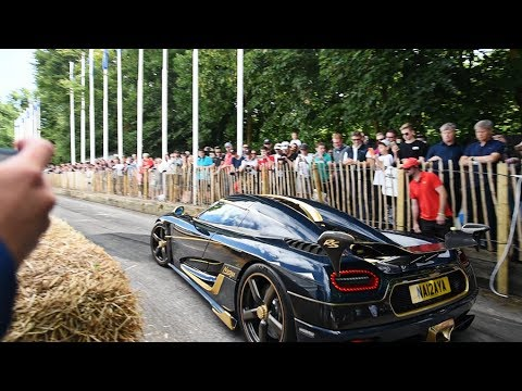DRIVING the MAD 1,200bhp Koenigsegg Agera RS!!!