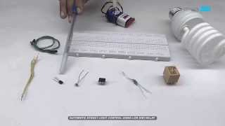 Automatic Street Light Control using LDR and Relay