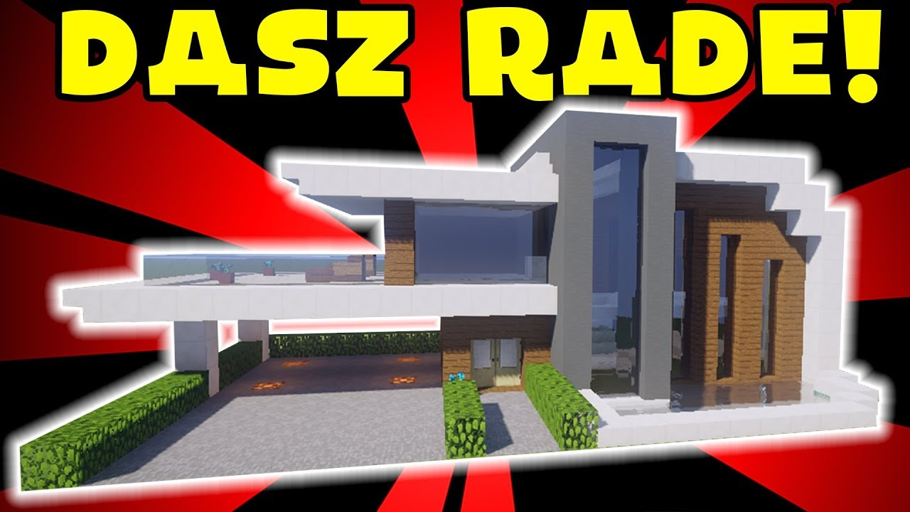 Minecraft Jak Zbudowac Wille Modern 21 Youtube