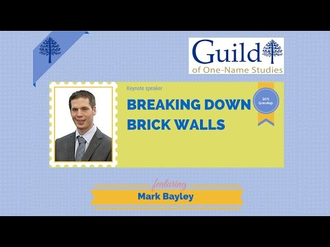 Breaking Down Brick Walls by Mark Bayley