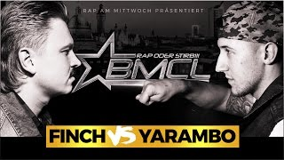 BMCL RAP BATTLE: FINCH VS YARAMBO (BATTLEMANIA CHAMPIONSLEAGUE)