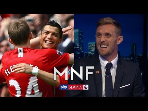 Darren Fletcher reveals what it was like playing with Cristiano Ronaldo | MNF Q\u0026A