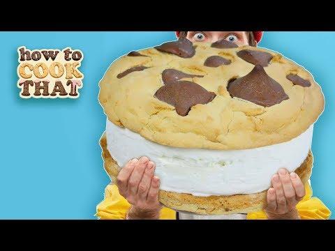 Stop Motion CHALLENGE Giant Icecream Sandwich