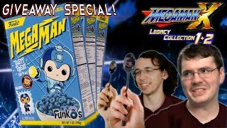 Mega Man Cereal Giveaway while Playing X Legacy Collection on Xbox One X