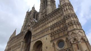 Lincoln Cathedral, Lincolnshire, England - May 2017