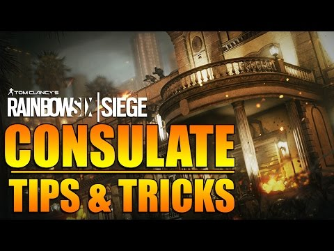 Rainbow Six Siege - In Depth: CONSULATE Tips & Tricks