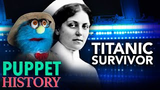Download Surviving The Titanic: History's Luckiest Woman • Puppet History Mp3 and Videos