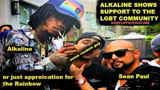 ALKALINE ENDORSE LGBT COMMUNITY or Just enjoying the Rainbow?