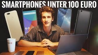Die BESTEN Smartphones UNTER 100 Euro