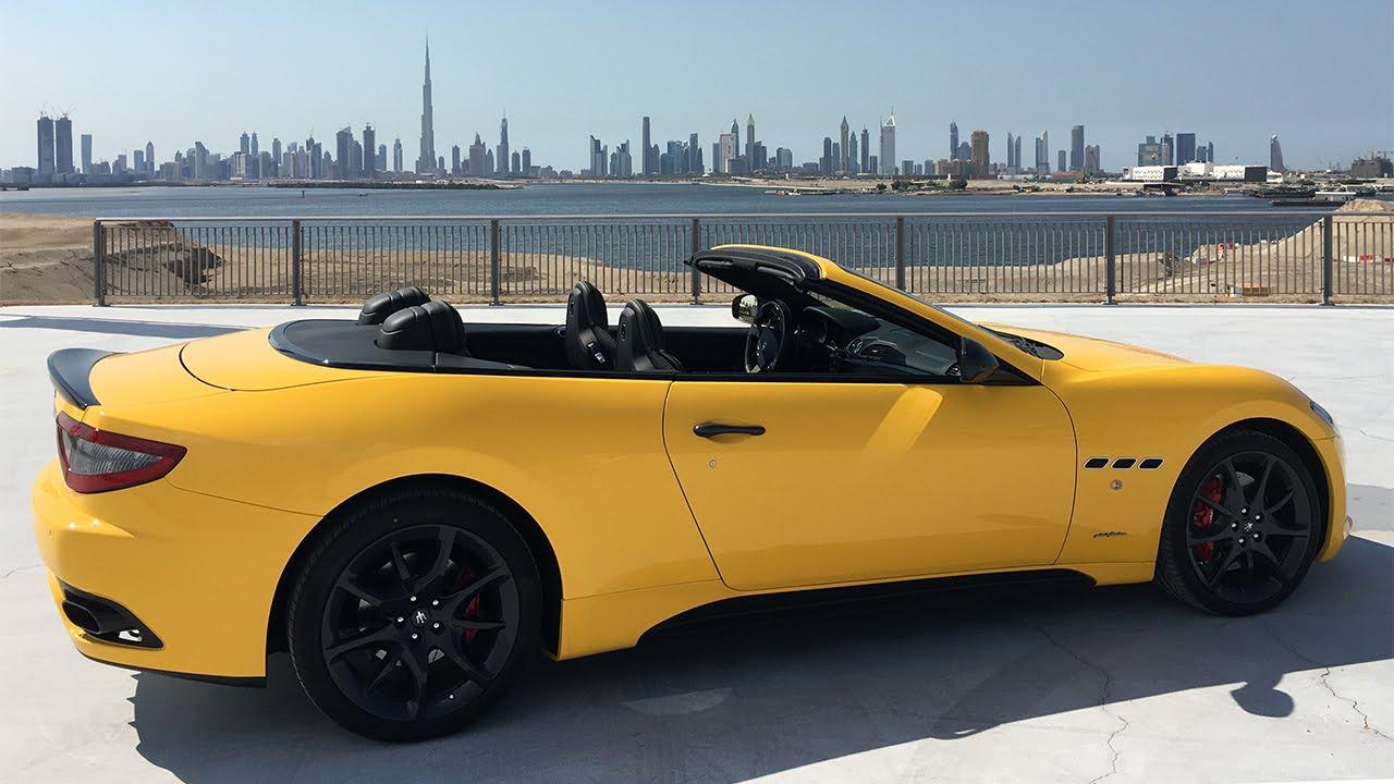 Maserati GranCabrio Sport Test Drive - YouTube