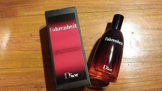Christian Dior Fahrenheit For Men Review