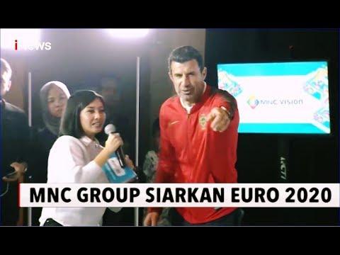Luis Figo Hadiri Peresmian Hak Siar MNC Group Untuk EURO 2020 - INews Sore 26/01